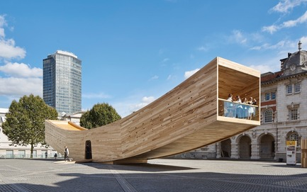 Press kit | 1071-06 - Press release | Announcing the Winners of the 5th Annual Architizer A+ Awards - Architizer - Competition -         The Smile by Alison Brooks Architects Ltd - Jury Winner, Pavilions - Photo credit: Courtesy ofAlison Brooks Architects Ltd