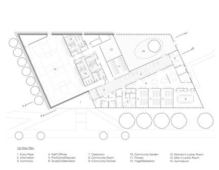 Dossier de presse | 2353-01 - Communiqué de presse | TREC - ikon.5 architects - Architecture institutionnelle - Floor Plan - Crédit photo : ikon.5 architects