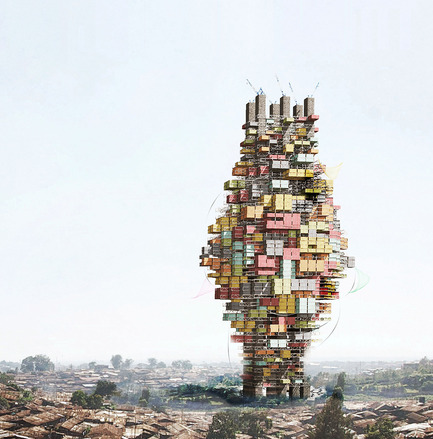 Dossier de presse | 1127-13 - Communiqué de presse | Winners 2017 eVolo Skyscraper Competition - eVolo Magazine - Competition - Adaptive Capacity: A Socio-ecological Vertical Community in Tanzania - honorable mention - Crédit photo : Adriann Jeevananthan