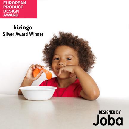 Press kit | 2447-01 - Press release | Kizingo's Toddler Spoon - Joba Design - Industrial Design - Cover photo - Photo credit: Kizingo