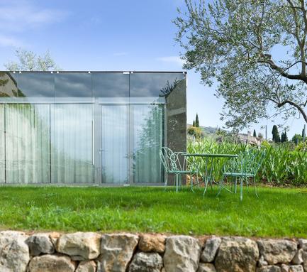 Press kit | 2433-01 - Press release | Maison SPE - ELLENA MEHL Architectes - Residential Architecture - double glazed facade - Photo credit: Hervé ELLENA