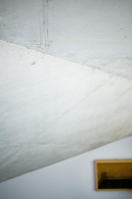 Press kit | 2433-01 - Press release | Maison SPE - ELLENA MEHL Architectes - Residential Architecture - concrete ceiling - detail - Photo credit: Hervé ELLENA