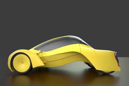 Press kit | 2234-02 - Press release | Dubai based Designer Niko Kapa wins Top Prize at European Product Design Awards - Studio Niko Kapa - Industrial Design -  Audi Cetus - side view - Photo credit: Studio Niko Kapa