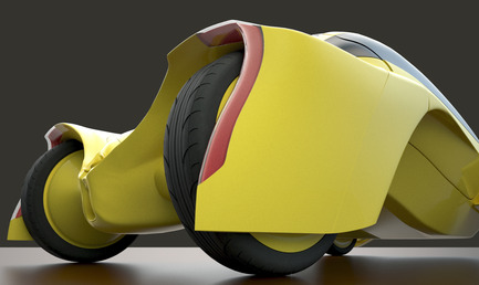 Press kit | 2234-02 - Press release | Dubai based Designer Niko Kapa wins Top Prize at European Product Design Awards - Studio Niko Kapa - Industrial Design -   Audi Cetus - rear view  - Photo credit:  Studio Niko Kapa