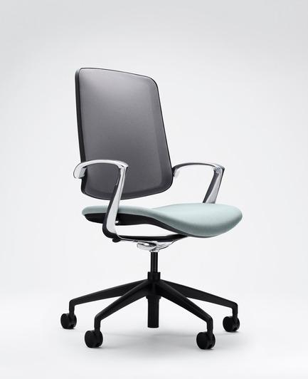 Press kit | 2527-01 - Press release | RevolutionaryTrinetic Task Chair - Boss Design - Commercial Interior Design - Boss Design Trinetic<br> - Photo credit: Boss Design&nbsp;Boss Design Trinetic<br>