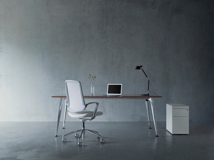 Press kit | 2527-01 - Press release | RevolutionaryTrinetic Task Chair - Boss Design - Commercial Interior Design - Boss Design Trinetic - Photo credit: Boss Design