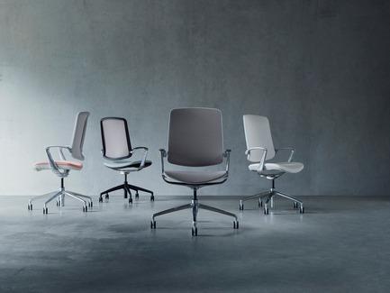 Press kit | 2527-01 - Press release | RevolutionaryTrinetic Task Chair - Boss Design - Commercial Interior Design - Photo credit: Boss Design
