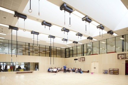 Dossier de presse | 1080-02 - Communiqué de presse | International Awards shortlist announced - INSIDE: World Festival of Interiors - Competition - Fontys Sports College, Netherlands<br>by Mecanoo International b.v., Mecanoo architecten