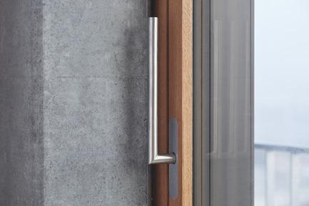 Press kit | 2529-01 - Press release | MINI Lift and Slide Door Awarded 'Best of the Best' for Innovative Design - Huber Fenster - Product - MINI lift and slide door - Photo credit: Huber Fenster