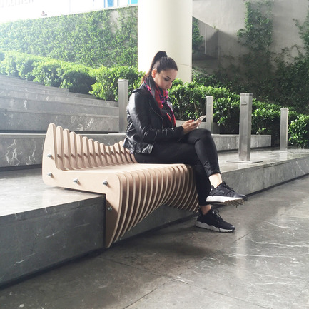 Press kit | 2409-01 - Press release | Waves - Tulin + Ayse / Studio-34 - Product -  Waves Stair Seating  - Photo credit:   Ayse Teke Mingu Tulin Atamer Karaagac