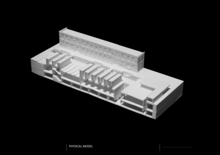 Press kit | 2551-01 - Press release | The Lima Art Museum New Contemporary Art Wing - AYBARS ASCI, Efficiency Lab for Architecture PLLC - Art - Model Picture - Photo credit: Efficiency Lab for Architecture PLLC