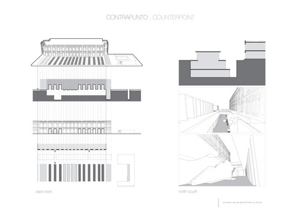 Press kit | 2551-01 - Press release | The Lima Art Museum New Contemporary Art Wing - AYBARS ASCI, Efficiency Lab for Architecture PLLC - Art - Concept Diagrams - Photo credit: Efficiency Lab for Architecture PLLC