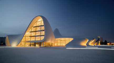 "Press kit | 661-37 - Press release | ""Performance"" is Announced as Theme for World Architecture Festival 2017 Edition - World Architecture Festival (WAF) - Competition - Zaha Hadid Architects Heydar Aliyev Centre - Photo credit: Farid Xayrulin"
