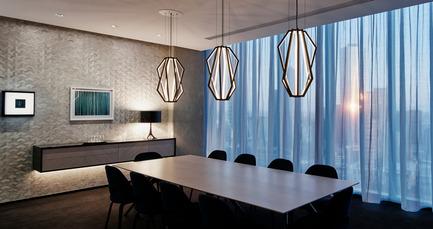 Dossier de presse | 2531-01 - Communiqué de presse | Corrs Chambers Westgarth - Electrolight - Lighting Design - Dining Room - Crédit photo : Peter Clarke