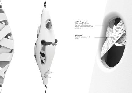Press kit | 2413-01 - Press release | Immersive Focus - Lequay Paul, Słowik Iga, Naval Claudia - Industrial Design - Cocoon - details - posture - Photo credit: Paul Lequay, Iga Słowik, Claudia Naval