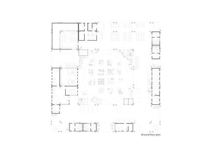 Press kit | 2567-01 - Press release | Mashambas Skyscraper - Ggrupa - Competition - ground floor plan - Photo credit: ggrupa