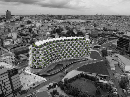 Press kit | 2204-06 - Press release | Unveiling Urban Rural - Eray Carbajo - Residential Architecture - Urban Rural in Istanbul - Photo credit: Eray Carbajo