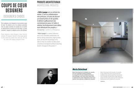 Dossier de presse | 611-10 - Communiqué de presse | 300 adresses design pour rénover, construire et aménager. Index-design lance la 6e édition du Guide de produits 2014. - Index-Design - Édition