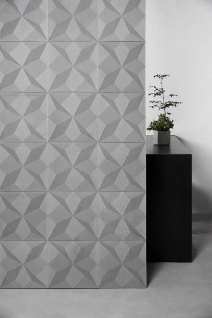 Press kit | 2459-01 - Press release | Concrete Wall Decoration Tiles - Shadow - Bentu Culture and Development Co., Ltd - Product -  BENTU's Concrete Wall Decoration Tiles 'Shadow' has awarded 'Best of the Best'  - Photo credit:  BENTU(www.bentudesign.com)