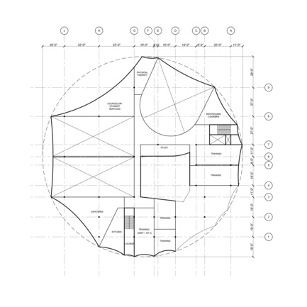 Press kit | 2528-01 - Press release | Circus Conservatory - Howeler + Yoon Architecture - Institutional Architecture - Third Floor - Photo credit: Courtesy of Höweler + Yoon Architecture