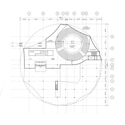 Press kit | 2528-01 - Press release | Circus Conservatory - Howeler + Yoon Architecture - Institutional Architecture - First Floor - Photo credit: Courtesy of Höweler + Yoon Architecture