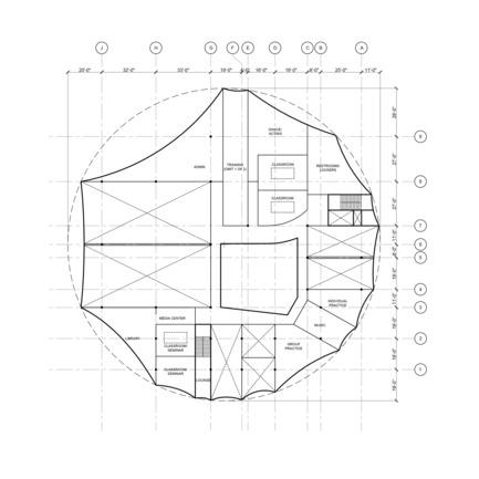 Press kit | 2528-01 - Press release | Circus Conservatory - Howeler + Yoon Architecture - Institutional Architecture - Fourth Floor - Photo credit: Courtesy of Höweler + Yoon Architecture