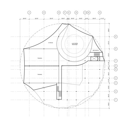 Press kit | 2528-01 - Press release | Circus Conservatory - Howeler + Yoon Architecture - Institutional Architecture - Second Floor - Photo credit: Courtesy of Höweler + Yoon Architecture