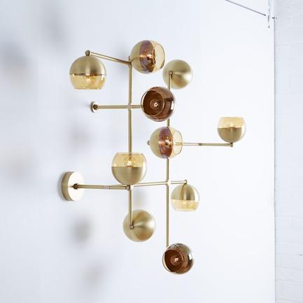 Press kit | 1665-02 - Press release | Lightmaker Studio Makes U.S. Debut at ICFF NY 2017 - Lightmaker Studio - Lighting Design - Float - Wall - Photo credit: Naomi Finlay