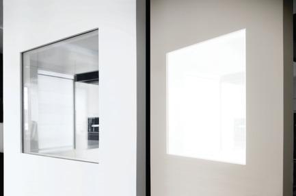 Press kit | 2578-01 - Press release | Award-winningALED Privacy-Plus Technology - LightGlass - Lighting Design - Seamless integration of ALED technology in dry walls - Photo credit: LigthGlass