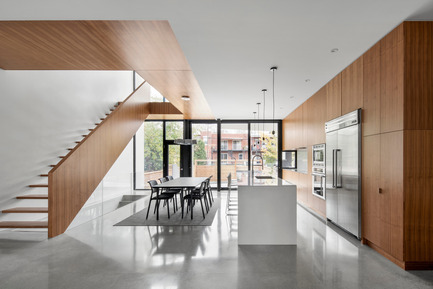 Press kit | 1633-03 - Press release | 1st Avenue Residence - Architecture Microclimat - Residential Architecture - Living space - Photo credit: Adrien Williams
