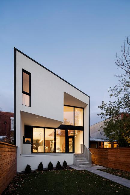 Press kit | 1633-03 - Press release | Résidence 1ère Avenue - Architecture Microclimat - Residential Architecture - Back facade - Photo credit: Adrien Williams