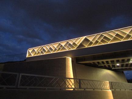 Press kit | 2366-01 - Press release | Un nouveau viaduc pour le Campus MIL de l'Université de Montréal - civiliti - Urban Design - Detail of Bridge and Abutment - Photo credit: civiliti