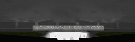 Press kit | 2366-01 - Press release | Un nouveau viaduc pour le Campus MIL de l'Université de Montréal - civiliti - Urban Design - Conceptual Elevation - Photo credit: civiliti