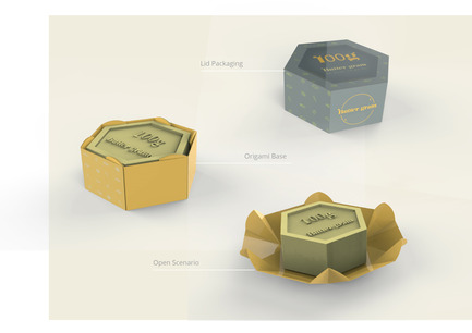 Press kit | 2472-01 - Press release | Award Winning Product Package Design: Butter gram - Axiom Consulting - Product - Parts & Details - Photo credit: Team Axiom<br>