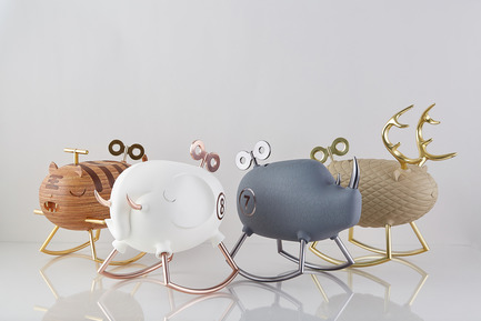 Dossier de presse | 2541-01 - Communiqué de presse | The Endangered - Trigger Design - Industrial Design - The Endangered  Scented jewelry boxes that takes form of endangered animals to emphasis the importance of cherishing precious moment with your loves ones.  - Crédit photo : Cause & Effect Studio