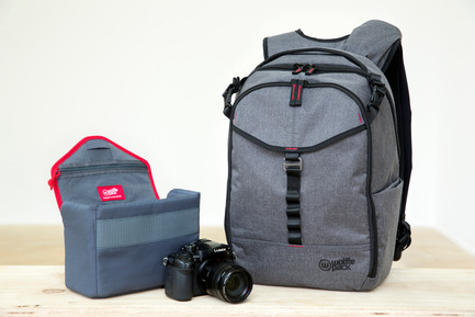 Press kit | 2599-01 - Press release | Wolffepack Capture, the Orbital Backpack, Wins 3 International Design Awards in 2017 - Wolffepack - Product - Wolffepack Capture with its own custom padded camera pod - Photo credit: Wolffepack Limited