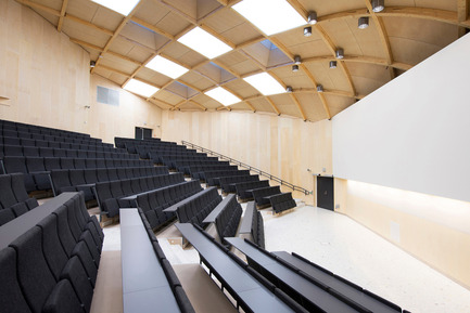 Dossier de presse | 1080-02 - Communiqué de presse | International Awards shortlist announced - INSIDE: World Festival of Interiors - Competition - Knowledge Centre, St. Olavs Hospital, Norway<br>by Nordic Office of Architecture