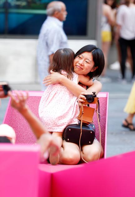Press kit | 1305-01 - Press release | XXX Times Square with Love - J.MAYER.H und Partner, Architekten - Art - XXX Times Square with Love - Photo credit: Rob Kassabian