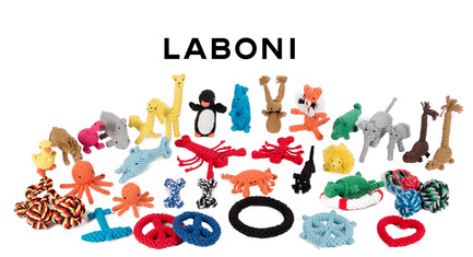Press kit | 2438-01 - Press release | Swiss Start-Up Embellishes the Lives of Dogs and Owners - Volentis GmbH - Product - IDA Silver Award Winner - LABONI DOG TOYS<br> - Photo credit: Volentis GmbH<br>