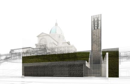 Press kit | 865-26 - Press release | Andrew King, Partner at Lemay, Appointed Fellow of Royal Architectural Institute of Canada - Lemay - Institutional Architecture - Saint Joseph's Oratory site redevelopment project - Photo credit: Lemay
