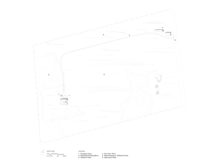 Dossier de presse | 2609-01 - Communiqué de presse | Compass House by superkül Named Architizer A+ Awards Jury Winner - superkül - Residential Architecture - Site Plan - Crédit photo : superkül