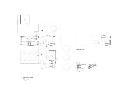 Dossier de presse | 2609-01 - Communiqué de presse | Compass House by superkül Named Architizer A+ Awards Jury Winner - superkül - Residential Architecture - Floor Plans - Crédit photo : superkül