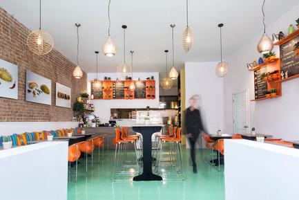 Dossier de presse | 1215-04 - Communiqué de presse | Pachamama, un oasis argentin en plein coeur de Montréal - ISSADESIGN - Design d'intérieur commercial - Vue d'ensemble - Crédit photo :  Alexandra Pelletier