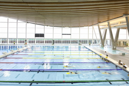 Press kit | 1615-04 - Press release | IESBC Announces the 2017 'Vision Award' Recipients - IESBC - Lighting Design -   Grandview Heights Aquatic Centre - IESBC Award of Merit for Interior Lighting Design<br>    - Photo credit:  Ema Peter