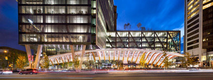 Press kit | 1615-04 - Press release | IESBC Announces the 2017 'Vision Award' Recipients - IESBC - Lighting Design -   TELUS Garden - IESBC Award of Excellence for Energy &amp; Environmental Lighting Design<br>  - Photo credit:   Westbank Corp