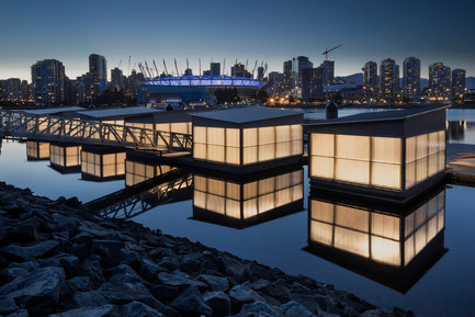 Press kit | 1615-04 - Press release | IESBC Announces the 2017 'Vision Award' Recipients - IESBC - Lighting Design -    Vancouver Creekside Paddling Centre -  IESBC Award of Merit &amp; Vision Award for Outdoor Lighting Design<br>   - Photo credit: Michael Elkan Photography