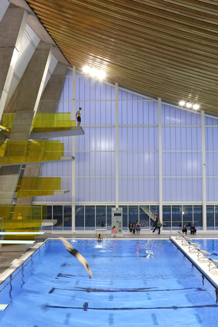 Press kit | 1615-04 - Press release | IESBC Announces the 2017 'Vision Award' Recipients - IESBC - Lighting Design - Grandview Heights Aquatic Centre - IESBC Award of Merit for Interior Lighting Design - Photo credit: Ema Peter