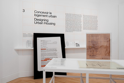 Press kit | 756-17 - Press release | Apprendre aux architectes: quatre cours de Kenneth Frampton - Centre Canadien d'Architecture (CCA) - Évènement + Exposition - Apprendre aux architectes : quatre cours de Kenneth Frampton. Vue d'installation, 2017. - Photo credit: Centre Canadien d'Architecture
