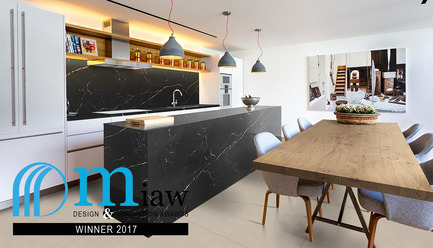 Press kit | 2276-04 - Press release | MIAW 2017: And the Winners Are - ArchiDesignclub by Muuuz - Competition - THESIZE - Neolith Nero Marquina - Photo credit: (c) muuuz