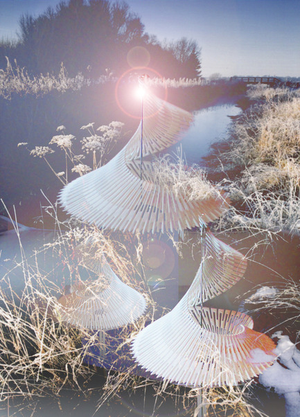 Dossier de presse | 2121-06 - Communiqué de presse | Seismic Electromagnetic Induction LED - Margot Krasojević Architects - Design d'éclairage - Tremor LED in context - Crédit photo : Margot Krasojević